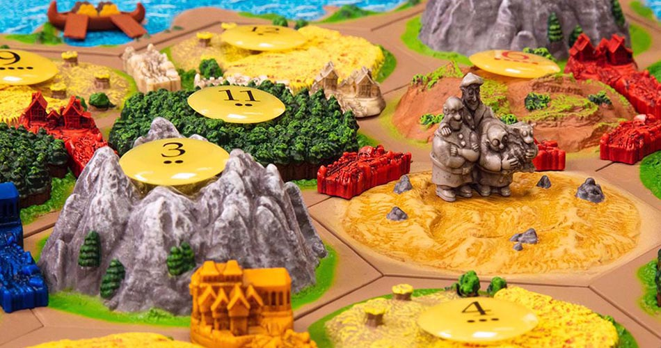 3D Settlers of Catan is Fantastic