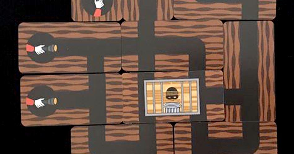 Bandido Board Game Overhead