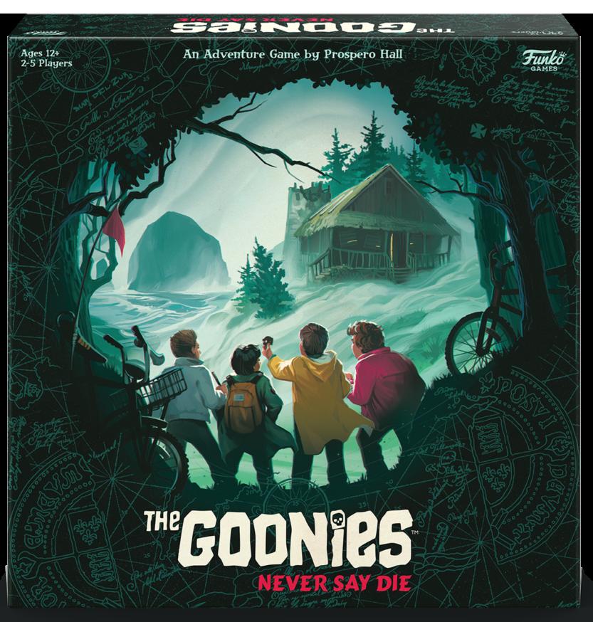 Funko Announces a Goonies Never Say Die Board Game 3D Box