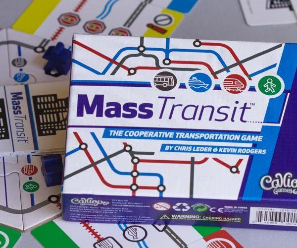 Mass Transit Board Game Box Art