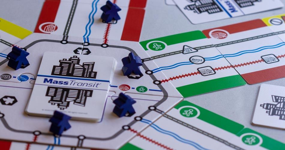 Mass Transit Board Game Gameplay