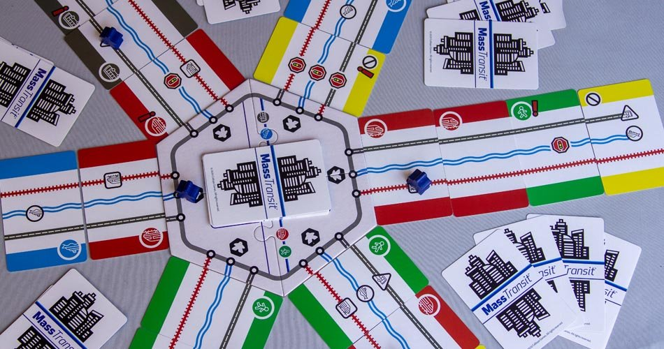 Mass Transit Board Game Overview