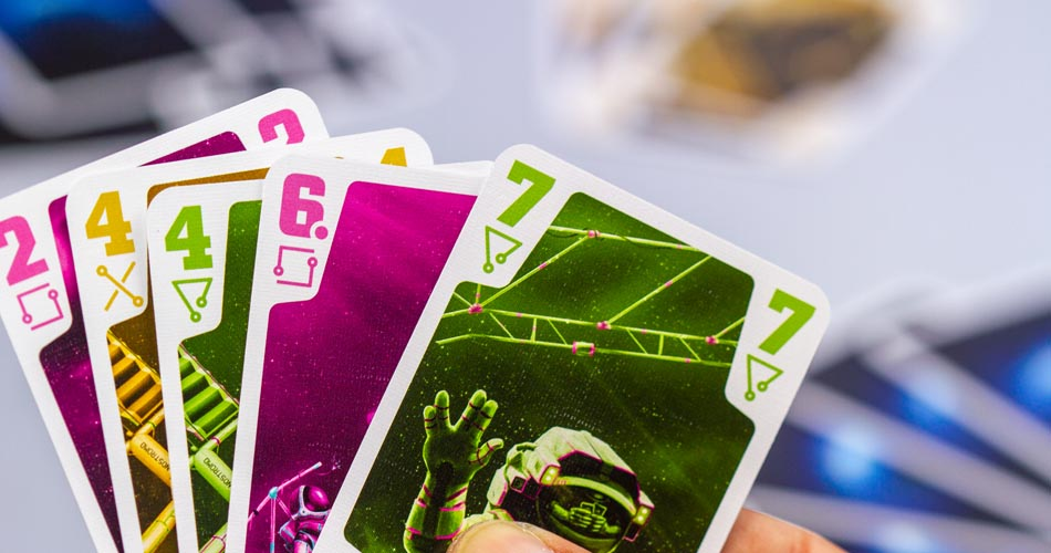 The Crew Board Game Cards