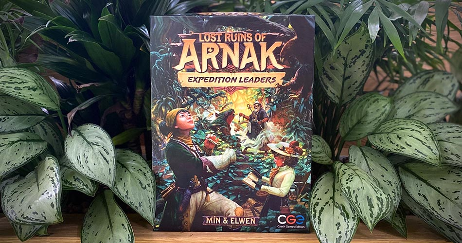 Czech Games Announces First Lost Ruins of Arnak Expansion Expedition Leaders