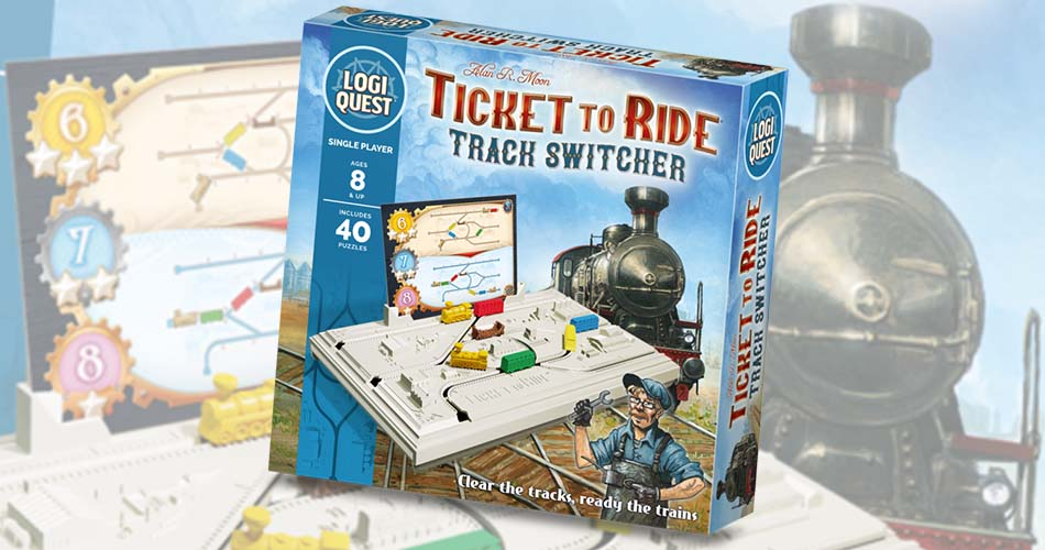 First Ticket To Ride Brain Teaser Puzzle Game