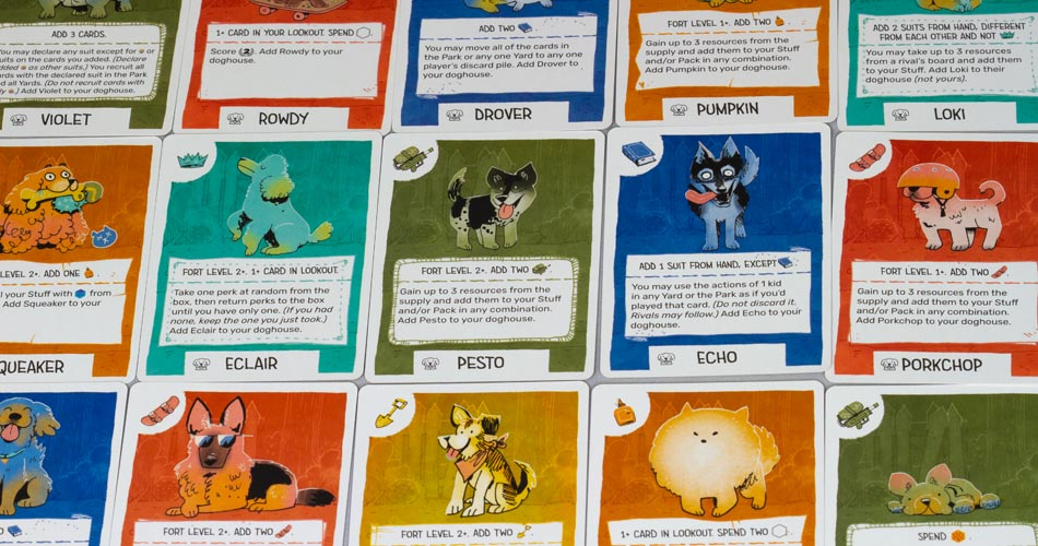 Fort Cats and Dogs Expansion Dog Cards