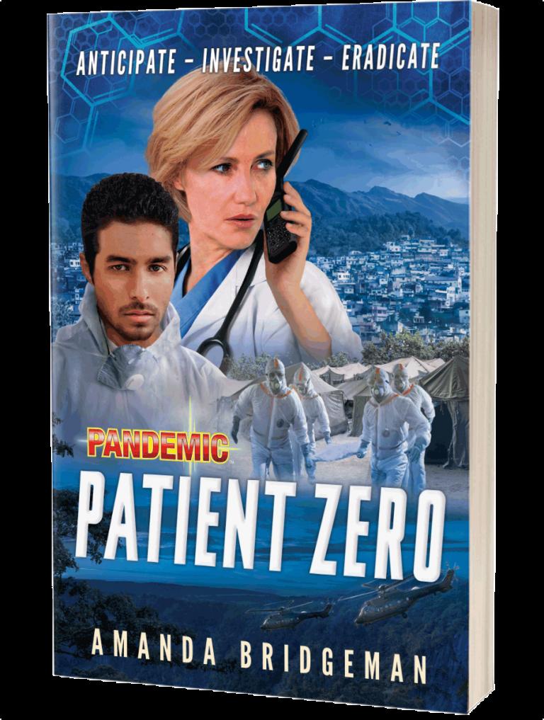 Pandemic Patient Zero by Amanda Bridgeman Book Art
