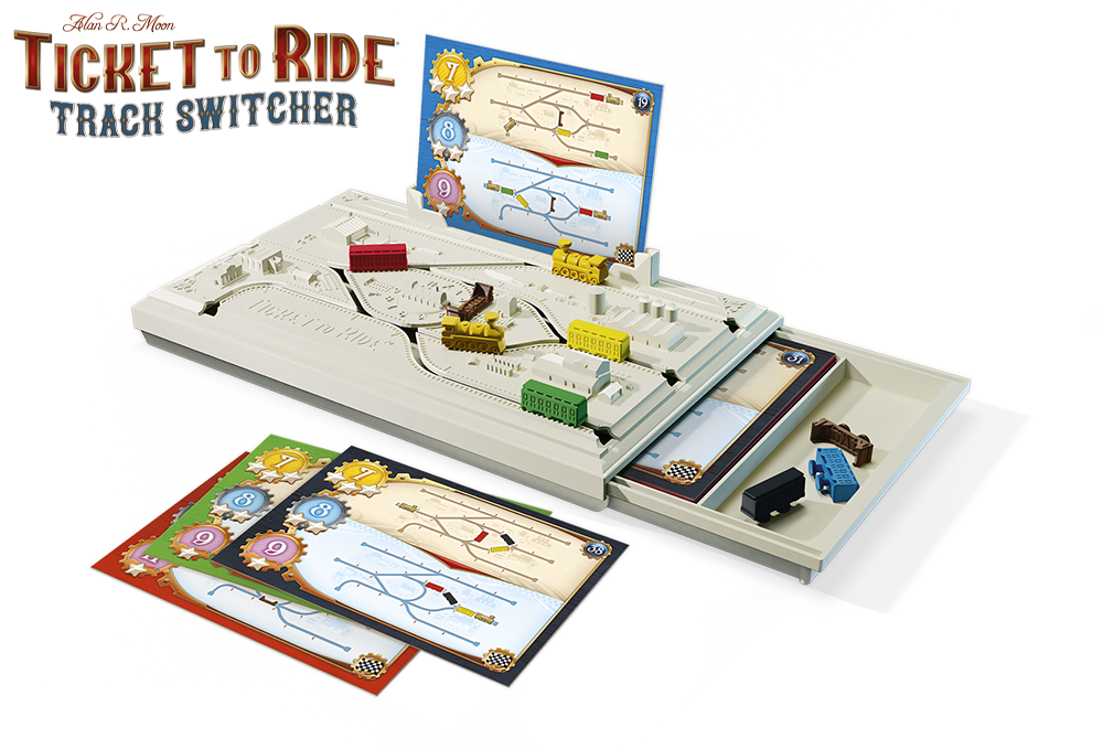 Ticket To Ride Track Switcher Components