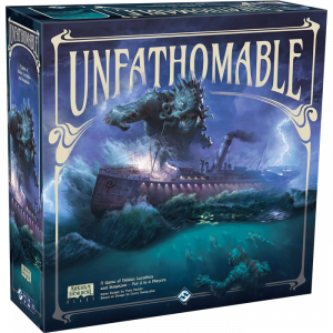Unfathomable Board Game 3D Box