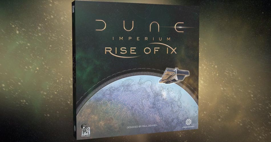 1st Dune Imperium Expansion Rise of Ix Announced By Dire Wolf