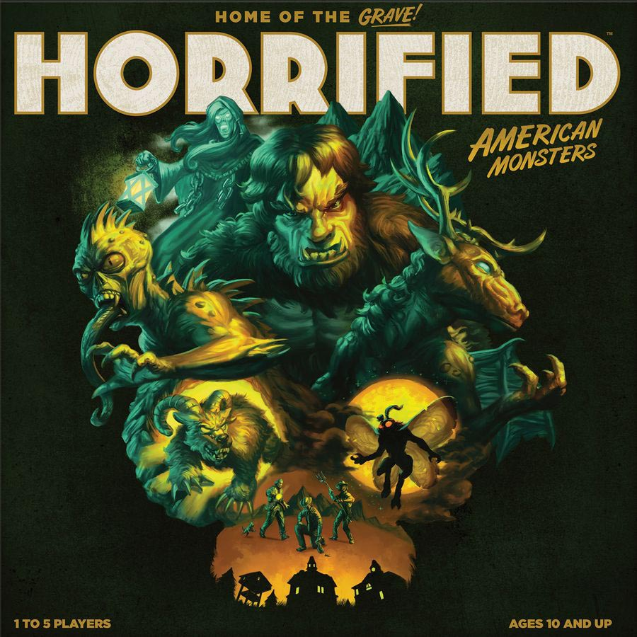 Horrified American Monsters Gamebox