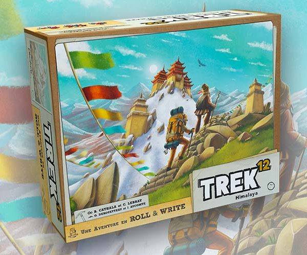 New Roll and Write Trek 12 Release Announced by Pandasaurus Games