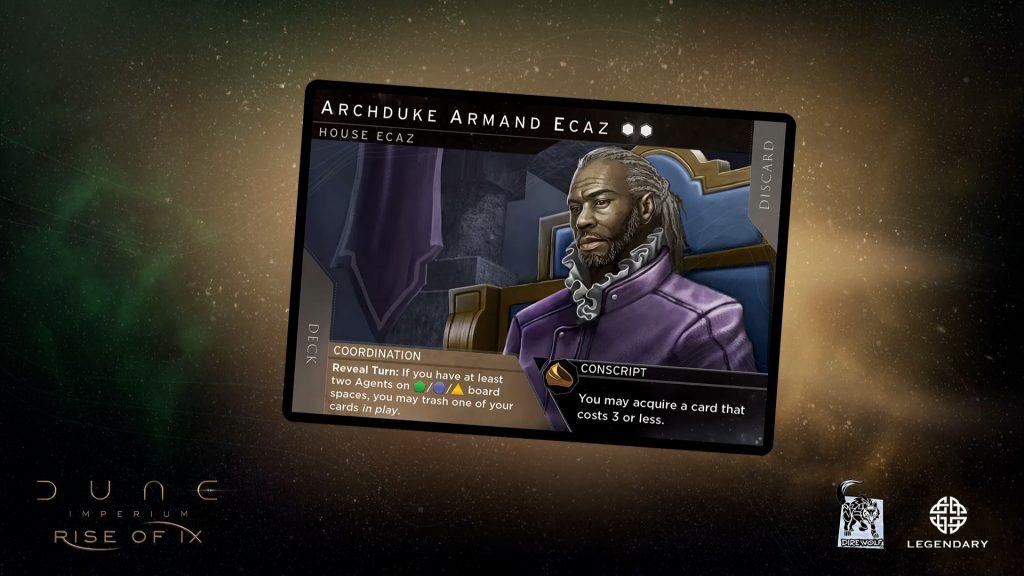 Dune Rise Of Ix Leader Ecaz
