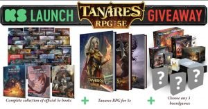 Board Game Giveaways D and D package 1021