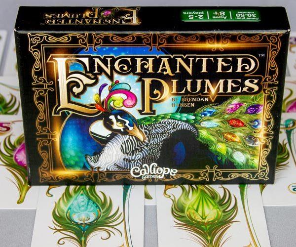 Enchanted Plumes Board Game Box Art