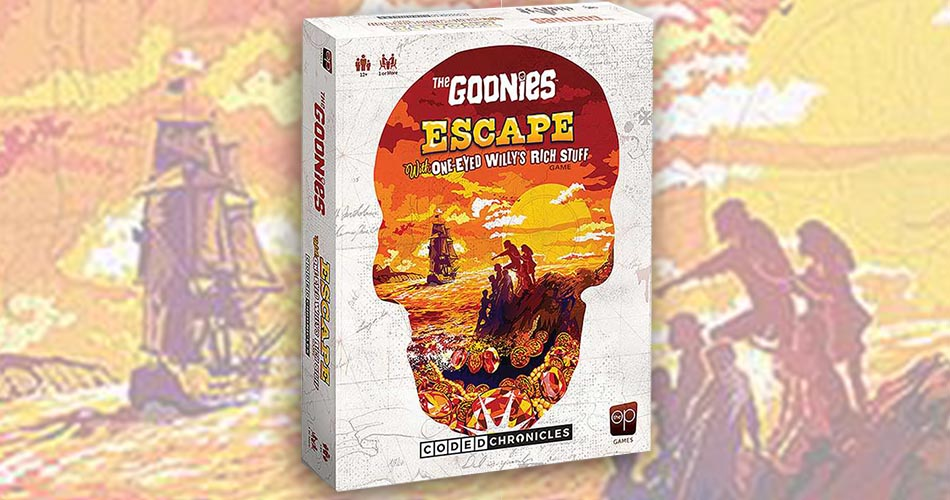 A Goonies Escape Room Board Game is Coming in November
