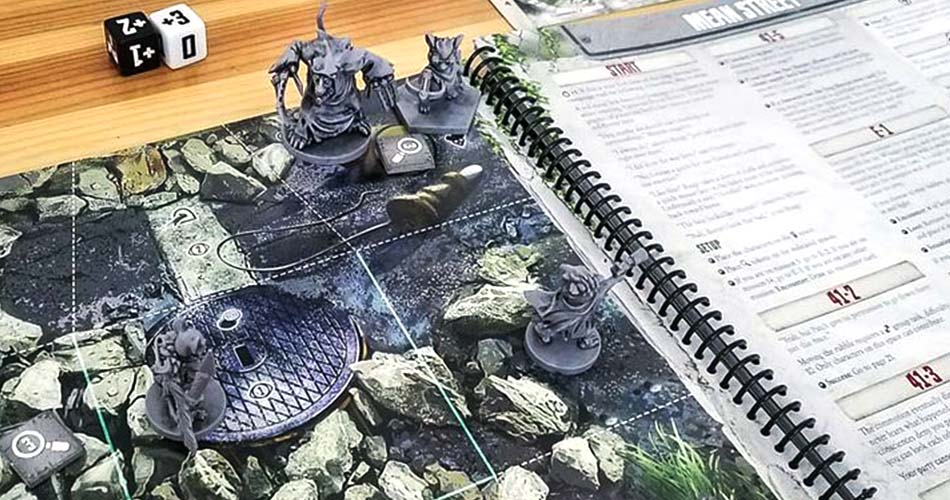 Aftermath Miniatures Board Game