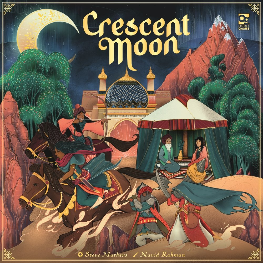 Crescent Moon Board Game Cover Art