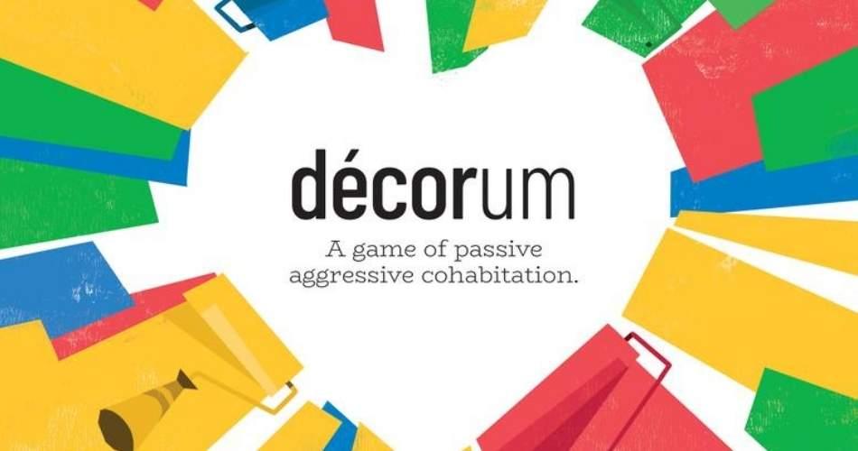 Floodgate Announces Passive Aggressive Cohabitation Board Game Décorum