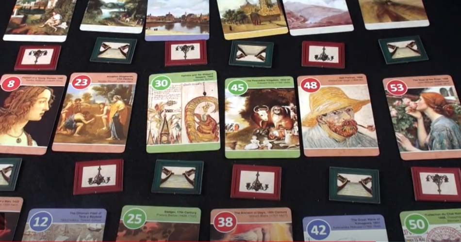 Musee Board Game