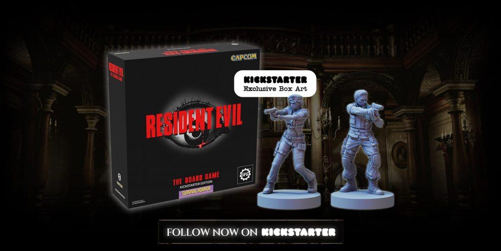 Resident Evil The Board Game Kickstarter Announcement
