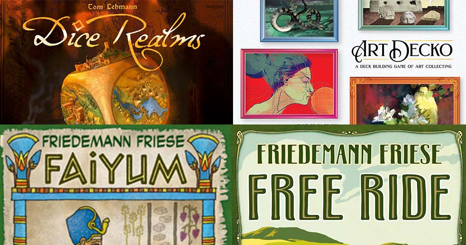 Rio Grande Announces New Deck Builders and Friedemann Friese Titles