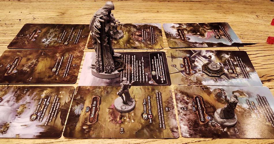Tainted Grail Fall of Avalon Miniatures Board Game