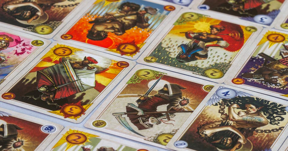 Allegory Board Game Cards