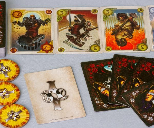 Allegory Board Game How To Play