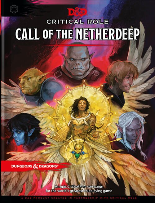Critical Role Call of the Netherdeep Cover
