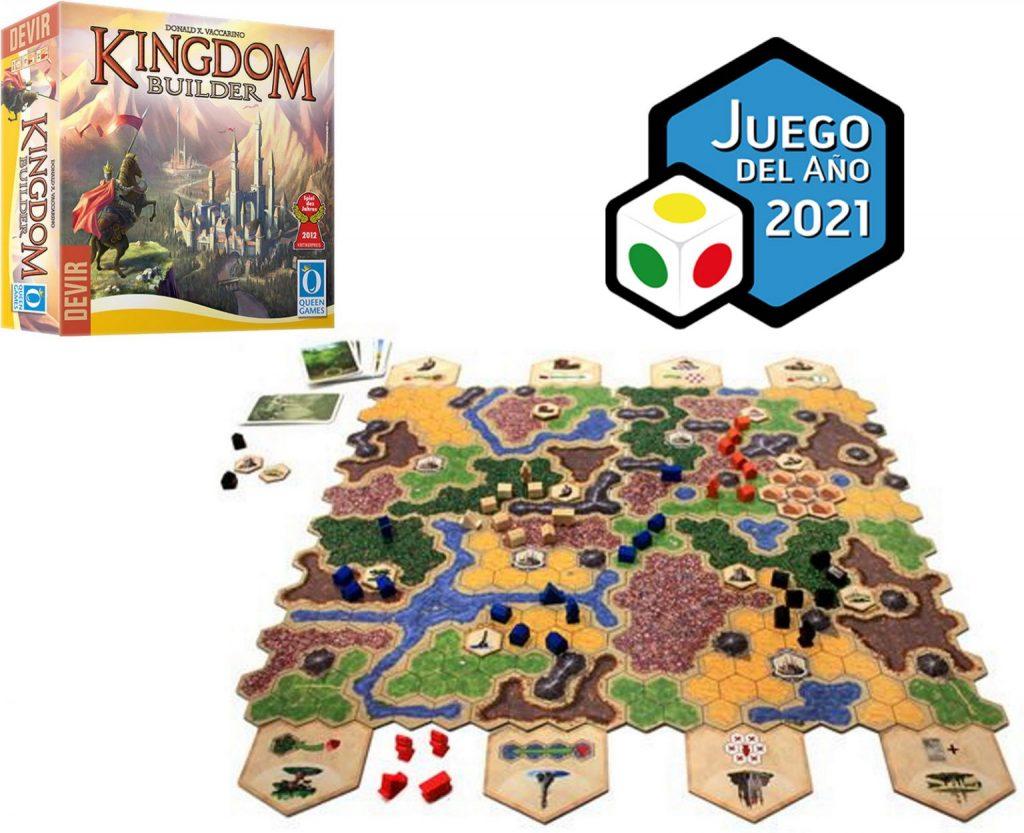 Kingdom Builder Juego del Ano 2021