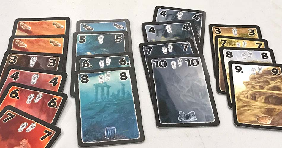 Lost Cities Rivals Card Game
