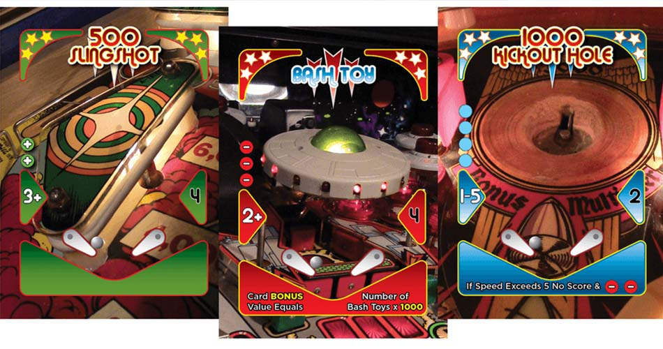 Pinball Showdown Cards Board Game